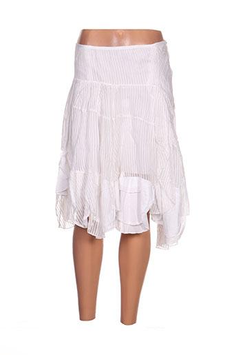 ddp jupes femme de couleur blanc