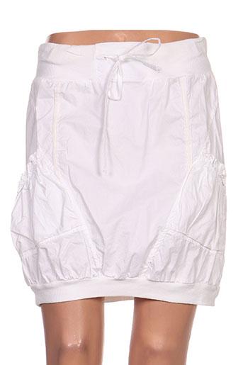 kalaïs jupes femme de couleur blanc