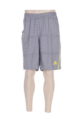 adidas shorts / bermudas homme de couleur gris
