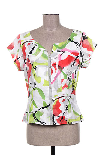 lucchini chemises femme de couleur vert