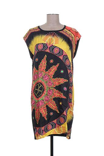 Robe courte noir CAROLINE VERMEILLE pour femme