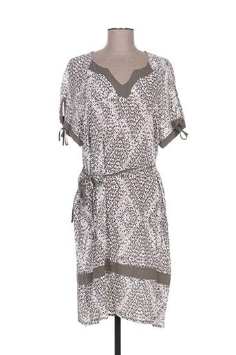 griffon robes femme de couleur beige