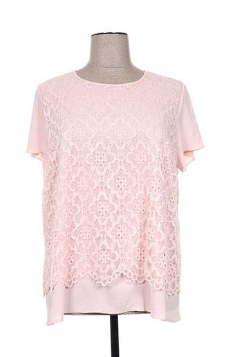 vetistyle chemises femme de couleur rose