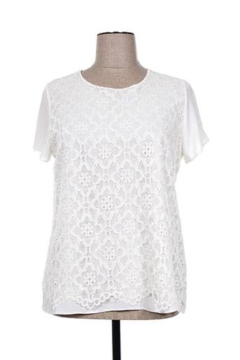 vetistyle chemises femme de couleur blanc