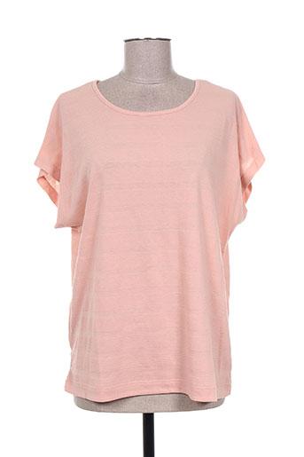 jensen t-shirts femme de couleur rose