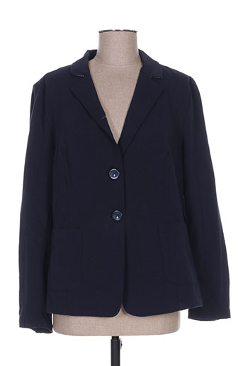 Veste casual bleu MARIA BELLENTANI pour femme