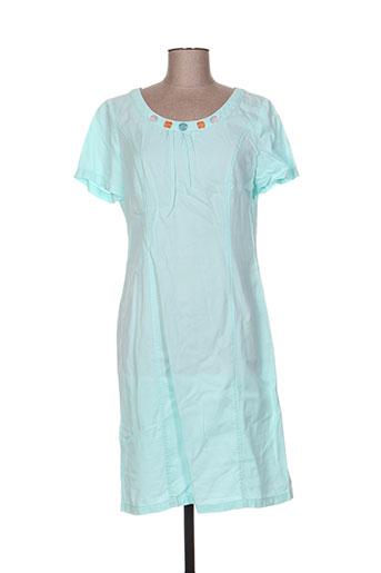 pause cafe robes femme de couleur bleu