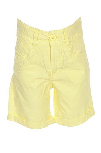 losan shorts / bermudas garçon de couleur jaune