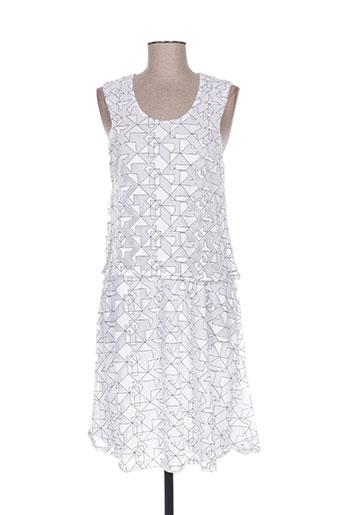 les filles de neaux robes femme de couleur blanc