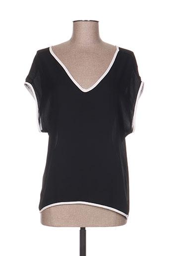 see the moon chemises femme de couleur noir