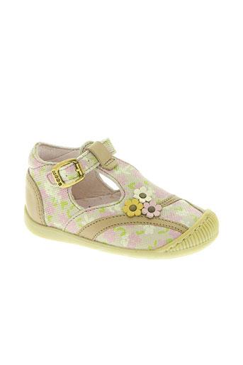 mod8 chaussures fille de couleur beige
