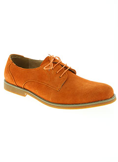 Derbies orange NOEX pour homme