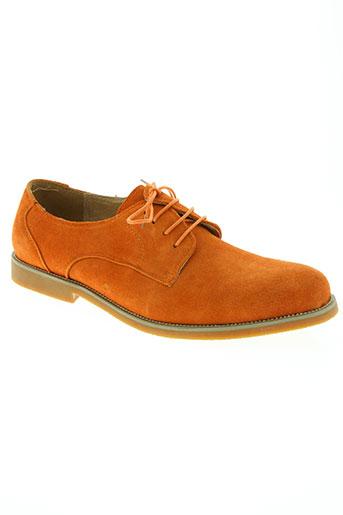noex chaussures homme de couleur orange