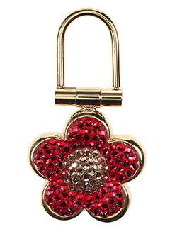 Porte-clé rouge AMBROSIA PARIS pour femme