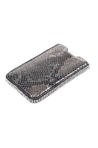 Portefeuille gris AMBROSIA PARIS pour femme