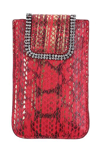 Portefeuille rouge AMBROSIA PARIS pour femme