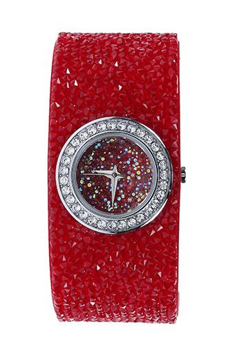 Montre rouge AMBROSIA PARIS pour femme