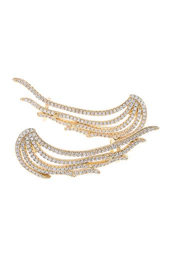 Boucles d'oreilles jaune AMBROSIA PARIS pour femme