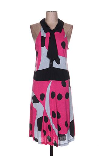 paramita robes femme de couleur rose