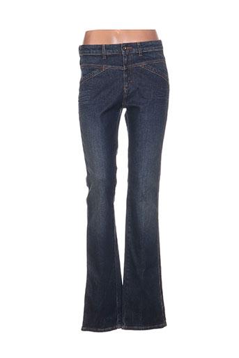 Jeans coupe slim bleu ONE STEP pour femme
