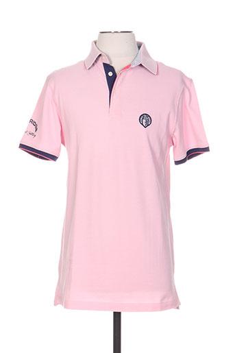 cambridge t-shirts homme de couleur rose