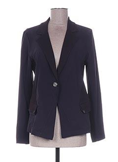 Veste casual violet 3322 pour femme