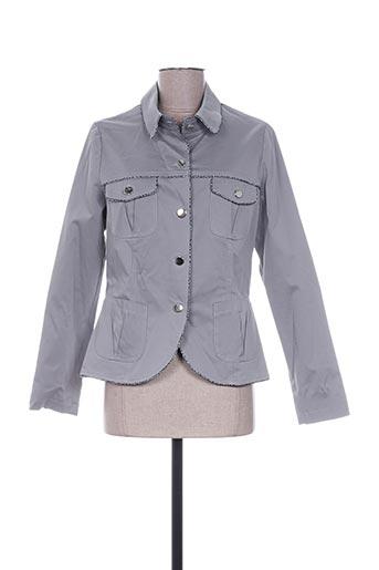 Veste casual gris FILIPINE LAHOYA pour femme