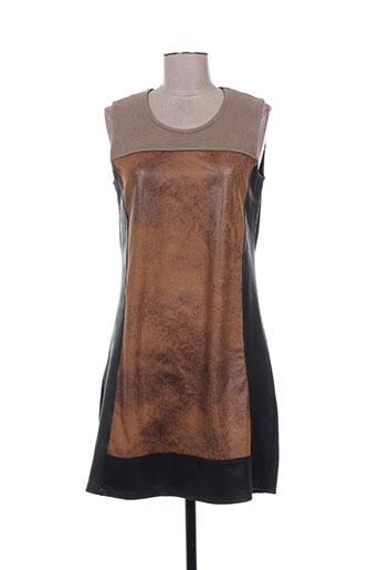 kalisson robes femme de couleur marron