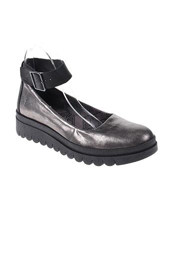 fly london chaussures femme de couleur gris