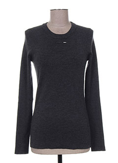 Pull col rond noir BARBARA BUI pour femme