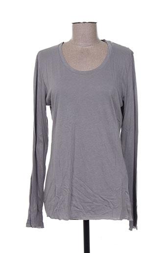 0039 italy t-shirts femme de couleur gris