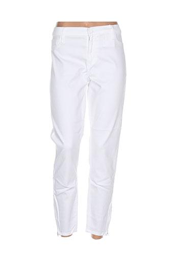 Pantalon casual blanc BLACK ORCHID pour femme