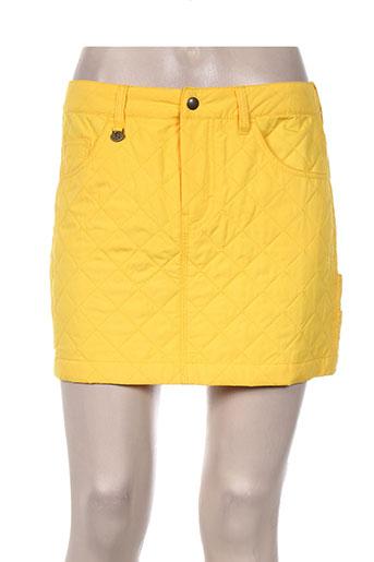 ralph lauren jupes femme de couleur jaune