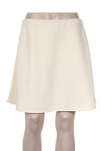 carven jupes femme de couleur beige