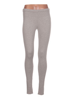 Legging gris BOBI pour femme