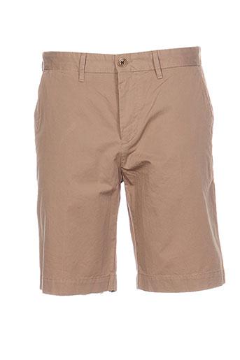 Short beige HENRY COTTON'S pour homme