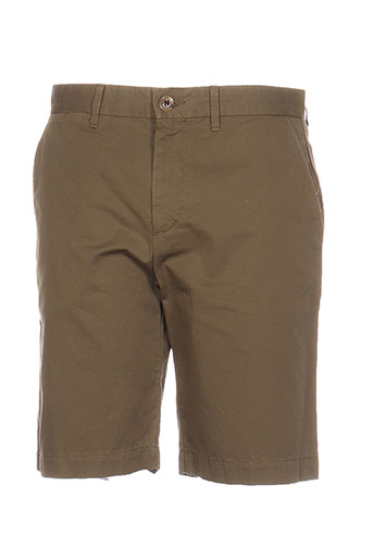 Short vert HENRY COTTON'S pour homme