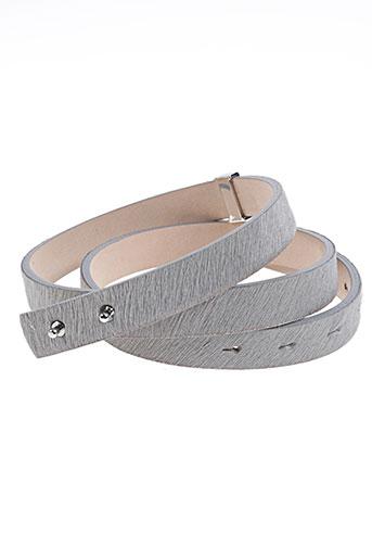 cerutti accessoires femme de couleur gris