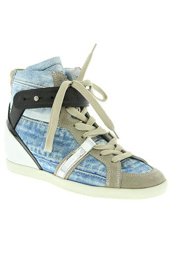 barbara bui chaussures femme de couleur bleu