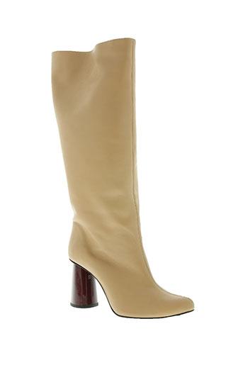 carven chaussures femme de couleur beige