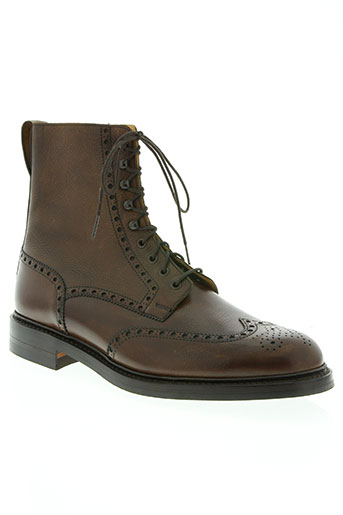 crockett EFFI_CHAR_1 jones chaussures homme de couleur marron