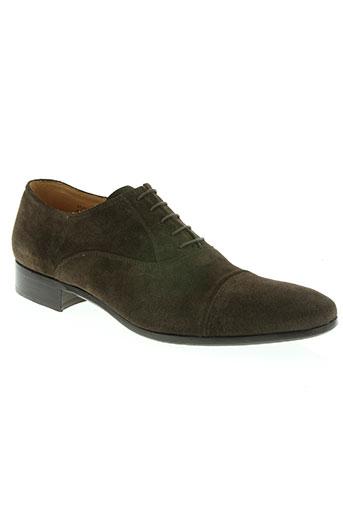 heschung chaussures homme de couleur marron