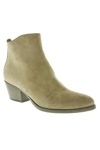sartore chaussures femme de couleur beige
