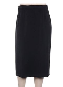 Jupe mi-longue noir FRANCOISE DE FRANCE pour femme