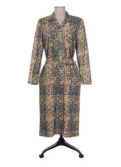 Robe mi-longue vert FRANCOISE DE FRANCE pour femme