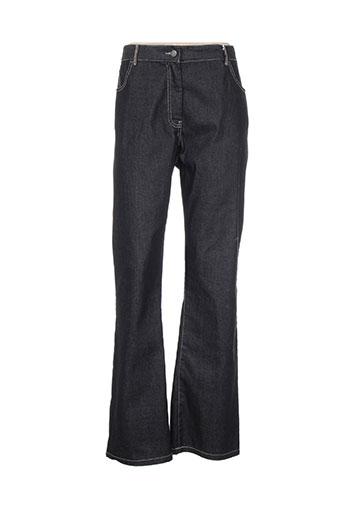 jensen jeans femme de couleur noir