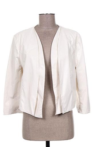 mivite vestes femme de couleur beige