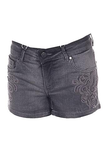 supertrash shorts / bermudas femme de couleur gris