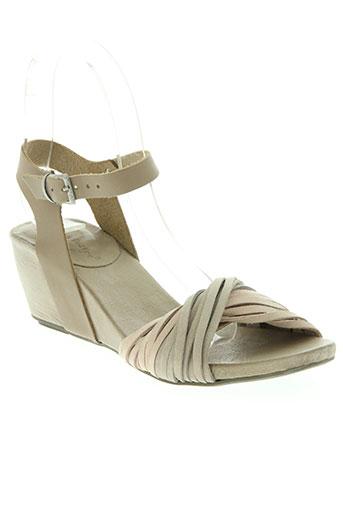 lune EFFI_CHAR_1 l'autre chaussures femme de couleur beige