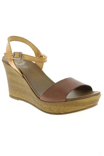 porronet chaussures femme de couleur marron